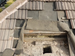 CHIMNEY REMOVAL, ROOFERS IN EDINBURGH