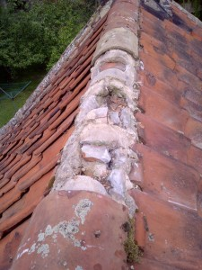 roof ridge tile repairs, roofers in Edinburgh