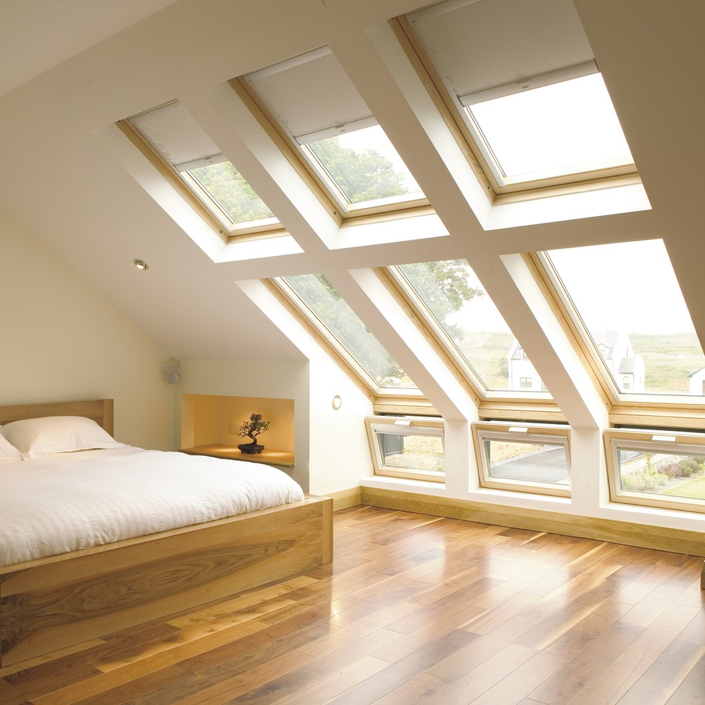 Velux roof windows installer skylights escape roof for Velux glass
